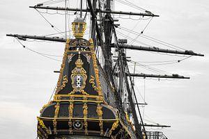Historisch VOC Schip Batavia van JWB Fotografie