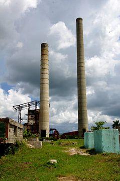 Oude rietsuikerfabriek aan de Valle de los Ingenios - Trinidad van