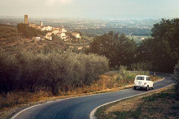 Landstraße in der nördlichen Toskana von Studio Reyneveld