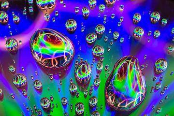 Abstracte druppels van Artde Nancy