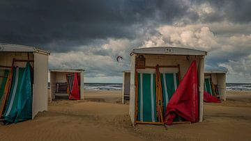 Nog geen strandweer vandaag van Toon van den Einde