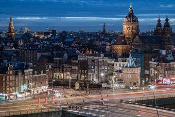 Amsterdam Skyline sur Scott McQuaide