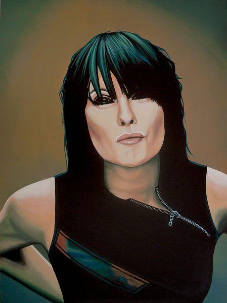 Chrissie Hynde schilderij van Paul Meijering