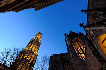 Domtoren en Domkerk in Utrecht von Donker Utrecht