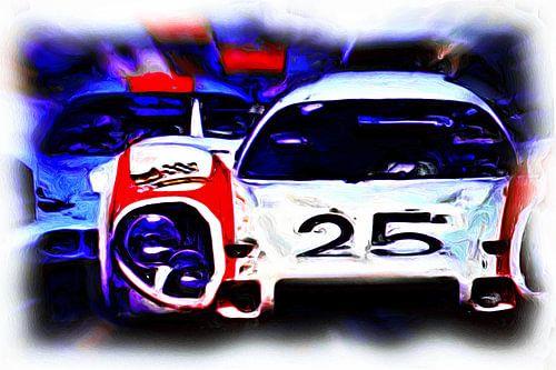 Le Mans - #25 versus #20 van Jean-Louis Glineur alias DeVerviers