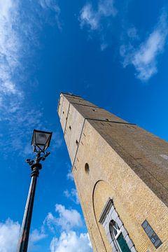 Le phare historique de Brandaris sur l'île de Terschelling dans le nord des Pays-Bas. C'est le plus  sur Tonko Oosterink