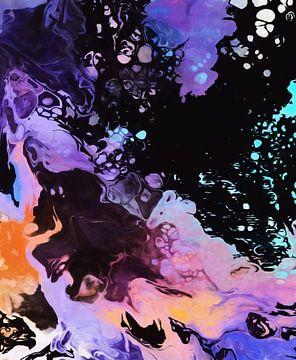 Abstracte samenstelling 1024 van Angel Estevez
