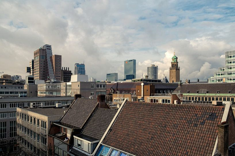 Rotterdamse daken I van Arjen Roos