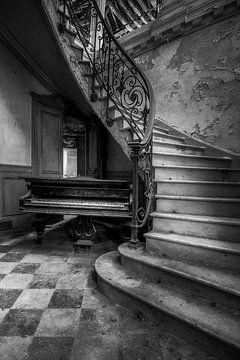Verlassenes Klavier von Frans Nijland