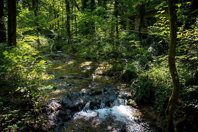 Stromend water van Meint Brookman