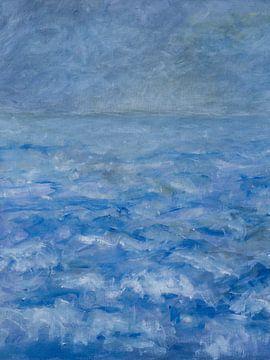 Ostsee im Morgennebel von Paul Nieuwendijk