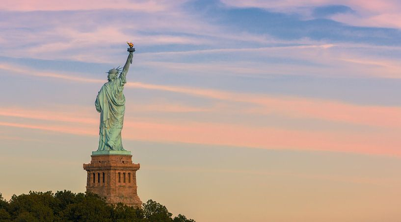 Freiheitsstatue, Manhattan, New York City von Henk Meijer Photography