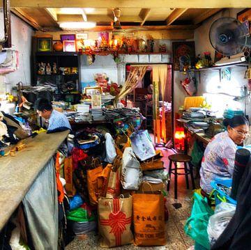 Een naai atelier in Bangkok van SPOOR Spoor