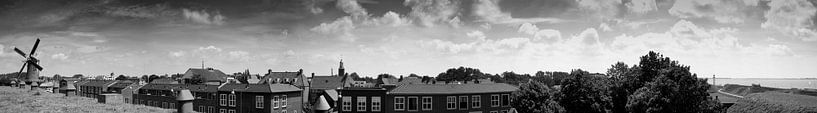 Panorama Hellevoetsluis. van M. van Oostrum