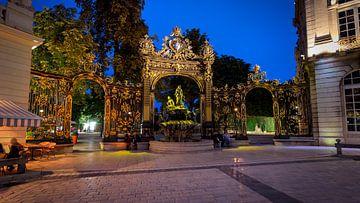 Het verbazingwekkende en  indrukwekkende centrum van  in Nancy 's  van