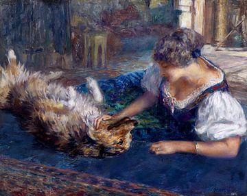 Spielgefährten - Ferdinand Max Bredt, 1916 von Atelier Liesjes