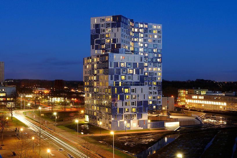 Studentencomplex Johanna op De Uithof in Utrecht van Donker Utrecht