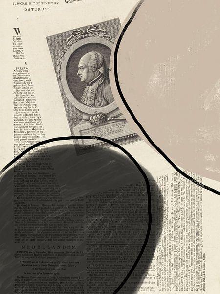 Abstract Papier VI van YOPIE illustraties