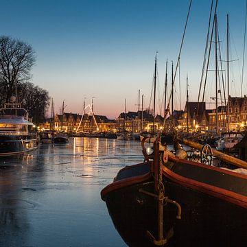 Hoornse haven van Dana Schoenmaker