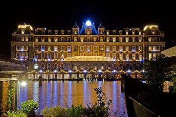 Amstel hotel in kerstsfeer van Remco Swiers