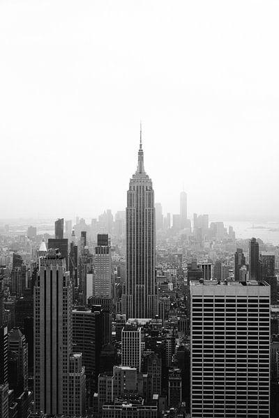 Empire state building New york city van Wianda Bongen