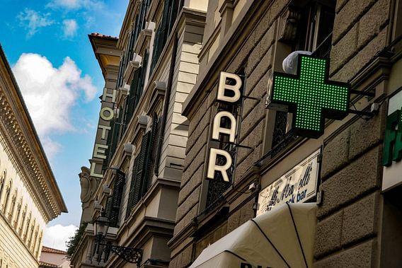 Een karakteristiek straatje in Florence