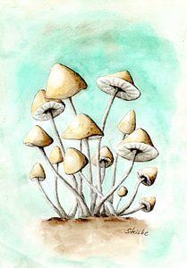 Champignons van Sandra Steinke