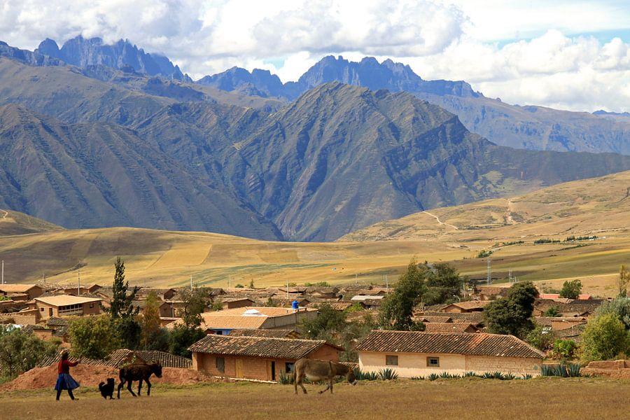 Heilige vallei van de Inca's van Antwan Janssen