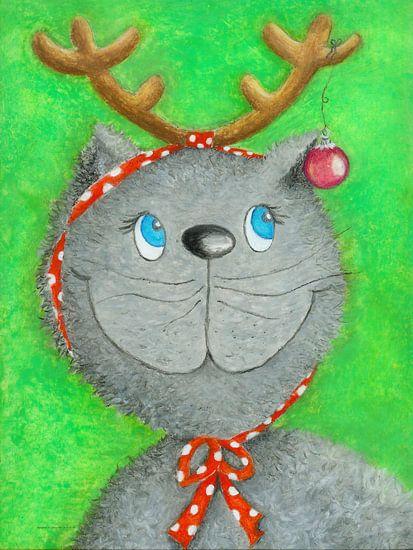 Kerstmis Kat Lina