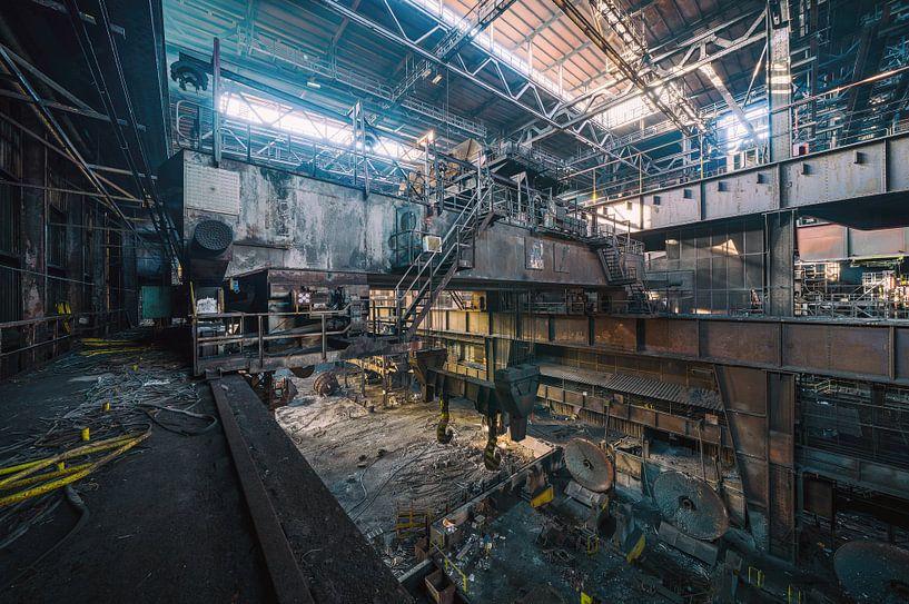 Industrielle Wanddekoration | Urbex Fotografie von Steven Dijkshoorn