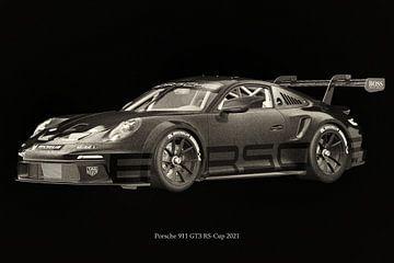 Porsche 911 GT-3 RS 2021 raceversie 2