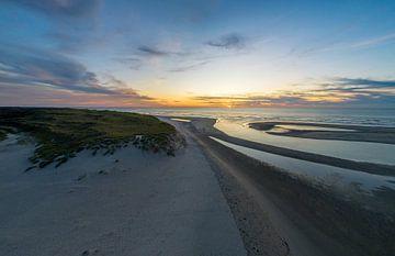 Le coucher de soleil Slufter Texel sur Texel360Fotografie Richard Heerschap