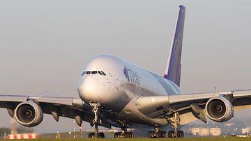Super A380 touchdown!  van Stefan Blok