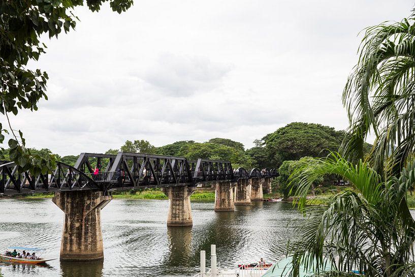 Bridge over de River Kwai van Martijn Bravenboer