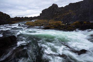 De Öxará rivier van