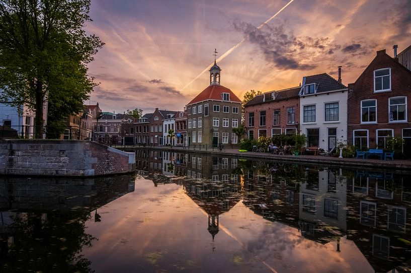 Zakkendragershuisje Schiedam van Bram Kool