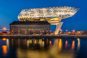 Nieuw Havenhuis Antwerpen van Bert Beckers