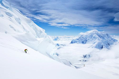 Ski Denali, Alaska von Menno Boermans