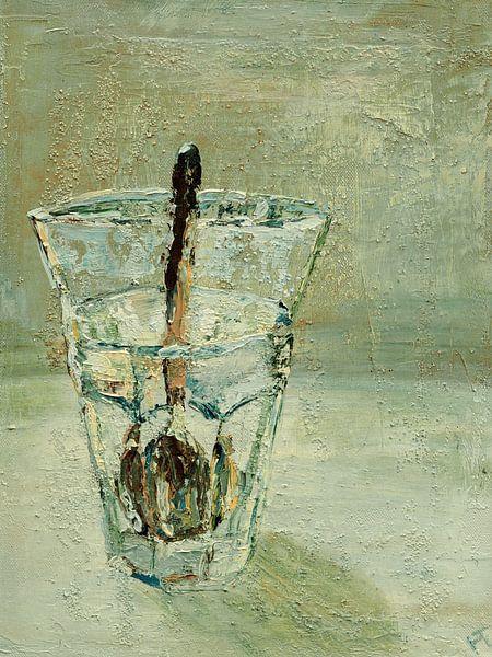 Teelöffel im Glas von Helma 't Lam