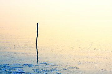 IJskoude weer op een zeer rustige dag van Jan Brons