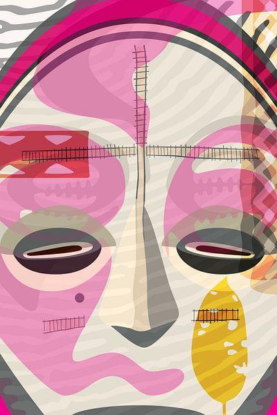 afrikaans masker van Siegfried Gwosdz