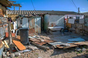 Township Zuid-Afrika van jacky weckx