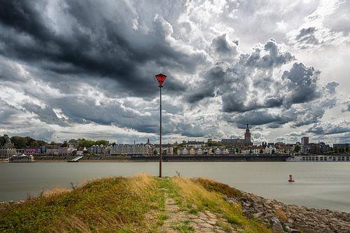 Wolken boven Nijmegen