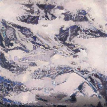 Abstrakte Inspiration LXXVIII von Maurice Dawson
