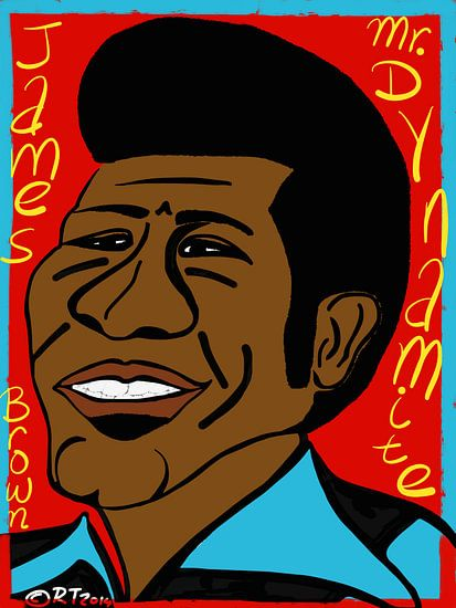 James Brown, Mr. Dynamite van Robbert Tilli