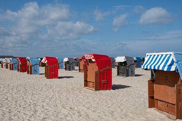 Bunte Strandstühle von Ooks Doggenaar