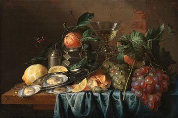 Stilleben mit Austern und Trauben, Jan Davidsz. de Heem
