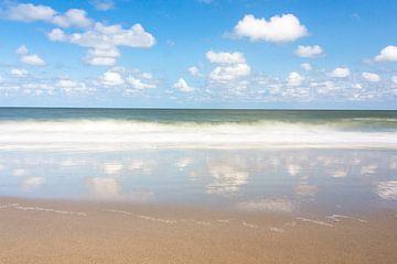 Réflexion de la mer sur natascha verbij