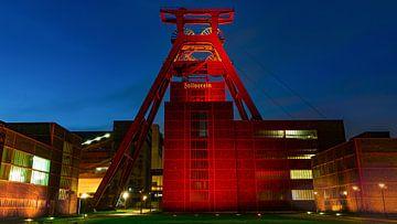Zollverein kolenmijn van Lichter-der-Stadt in NRW