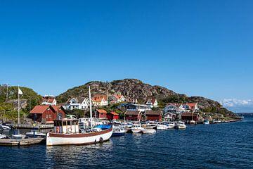 Blick auf den Ort Rönnäng in Schweden von Rico Ködder